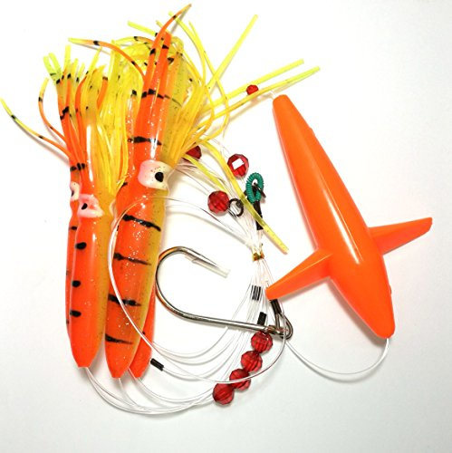 Bird Daisy Chain – Orange/Yellow – 1pc – w/Single Lure Bag