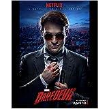 Daredevil (TV Series 2015 - ) 8 inch x 10 inch Photo Charlie Cox Netflix Poster April 10 kn