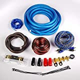 Gravity BGR-KIT0ANLBi 0 Gauge Amplifier Installation ANL Kit with High Performance RCA and Speaker Wire