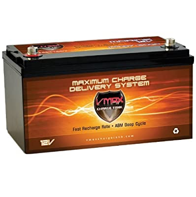 Vmaxtanks VMAX MR197 12 Volt 200AH AGM SLA Marine Deep Cycle HI Performance Battery
