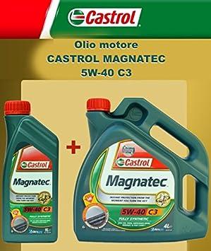 Castrol Magnatec C3 - Aceite de motor original 5W40,5 l: Amazon.es: Coche y moto