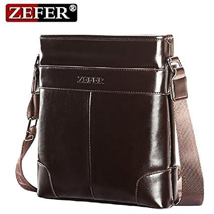 530a5a6c6117 Buy Genric small black   ZEFER 2016 Luxury Brand Design Men Bag Casual Men  Messenger Bags Vintage PU Leather Men s Business Briefcase Shoulder Bag  AZ130 ...
