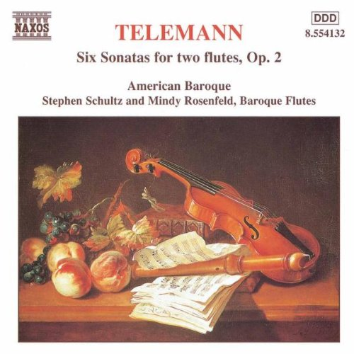 Music : Six Sonatas for two Flutes, Op. 2