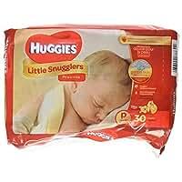 Huggies Supreme Little Snugglers, Preemies, 30 count(pack of 2)