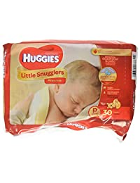Huggies Supreme Little Snugglers, Preemies, 30 count(pack of 2) BOBEBE Online Baby Store From New York to Miami and Los Angeles