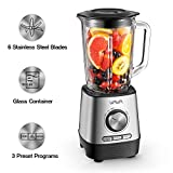Best Blenders Smoothies Heavy Duties - Countertop Blender, VAVA Smoothie Blender with 1500ml Glass Review