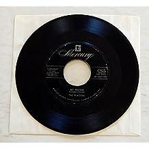 The Platters MY PRAYER b/w HEAVEN ON EARTH - Mercury Records 1956 - Vinyl 7 Inch Single Record - MONO - Cool Rock & Roll / R&B single! Features Zola Taylor!