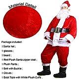Deluxe Christmas Santa Suit Costume