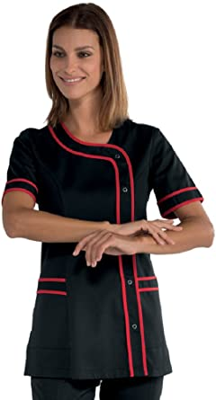 Robinson - Camisa - Mujer negro multicolor: Amazon.es: Ropa y accesorios