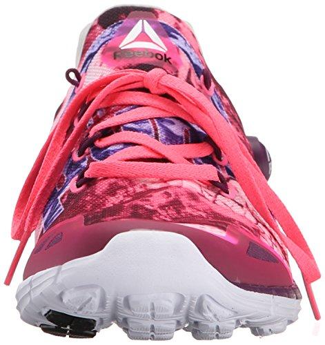 Reebok Zpump Fusion 2.0 Dunes Laufschuh Solar Pink/Celestial Orchid/Steel/Running White/Bl
