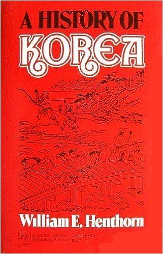 Book A History of Korea