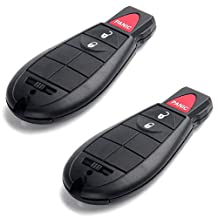 Scitoo 2pc New Replacement Keyless Entry Remote Control 3 Button Car Key Fob Replacement for Fobik M3N5WY783X
