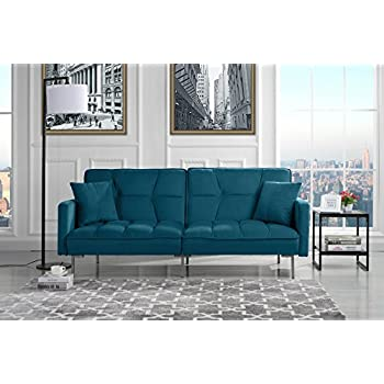 Amazon Com Novogratz Brittany Sleeper Sofa Premium Linen