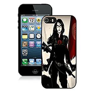 Beautiful DIY Designed With Baroness G.I. Joe Cover Case For iPhone 5S Black Phone Case CR-057