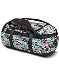 The North Face Base Camp Duffel (Large, Snow White Cutout Camo Print Asphalt Grey)