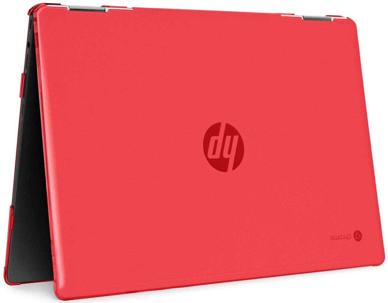 "mCover Hard Shell Case for 14"" HP Chromebook X360 14-DA0000 Series laptops (NOT Compatible with Other HP Chromebook & Windows laptops) (Red)"