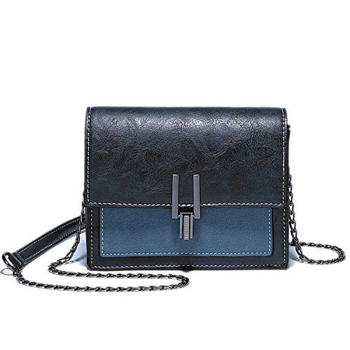 Blue Silver Hardware - LoZoDo Small Crossbody Bags Cell Phone Purse Wallet Bags Lightweight Shoulder Bag For Women