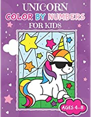 Unicorn Color By Numbers for Kids Ages 4-8: Unicorn Coloring Activity Book | Adorable Children's Book Filled with 30 Magical Horses