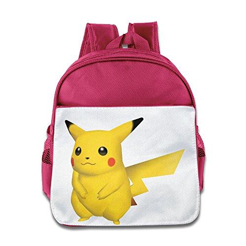 Wii Combat Pack (JXMD Custom Superb Yellow Man Poke Children School Bag Backpack For 1-6 Years Old Pink)