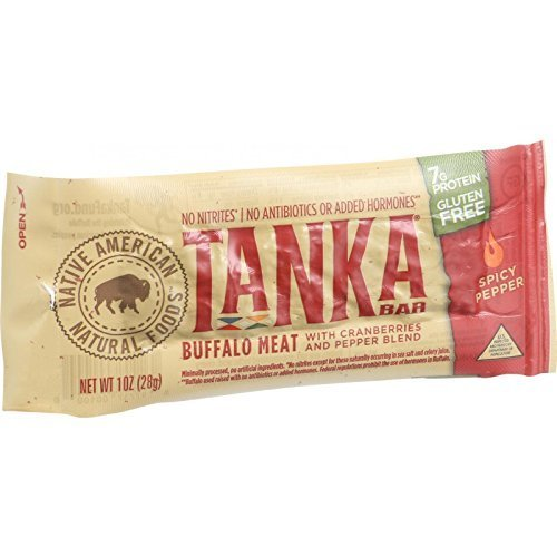 Tanka Natural Buffalo Cranberry Hot Bar ( 12x1 OZ) ( Value Bulk Multi-pack) by Tanka Bar