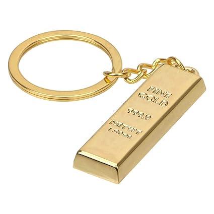 Llavero Cadena de Metal Llavero de Oro Llaveros del Coche ...