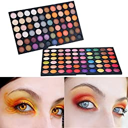 ACEVIVI Professional 120 Colors Eyeshadow Combination Pallet Women Cosmetics Set Eyeshadow Natural Makeup Palette