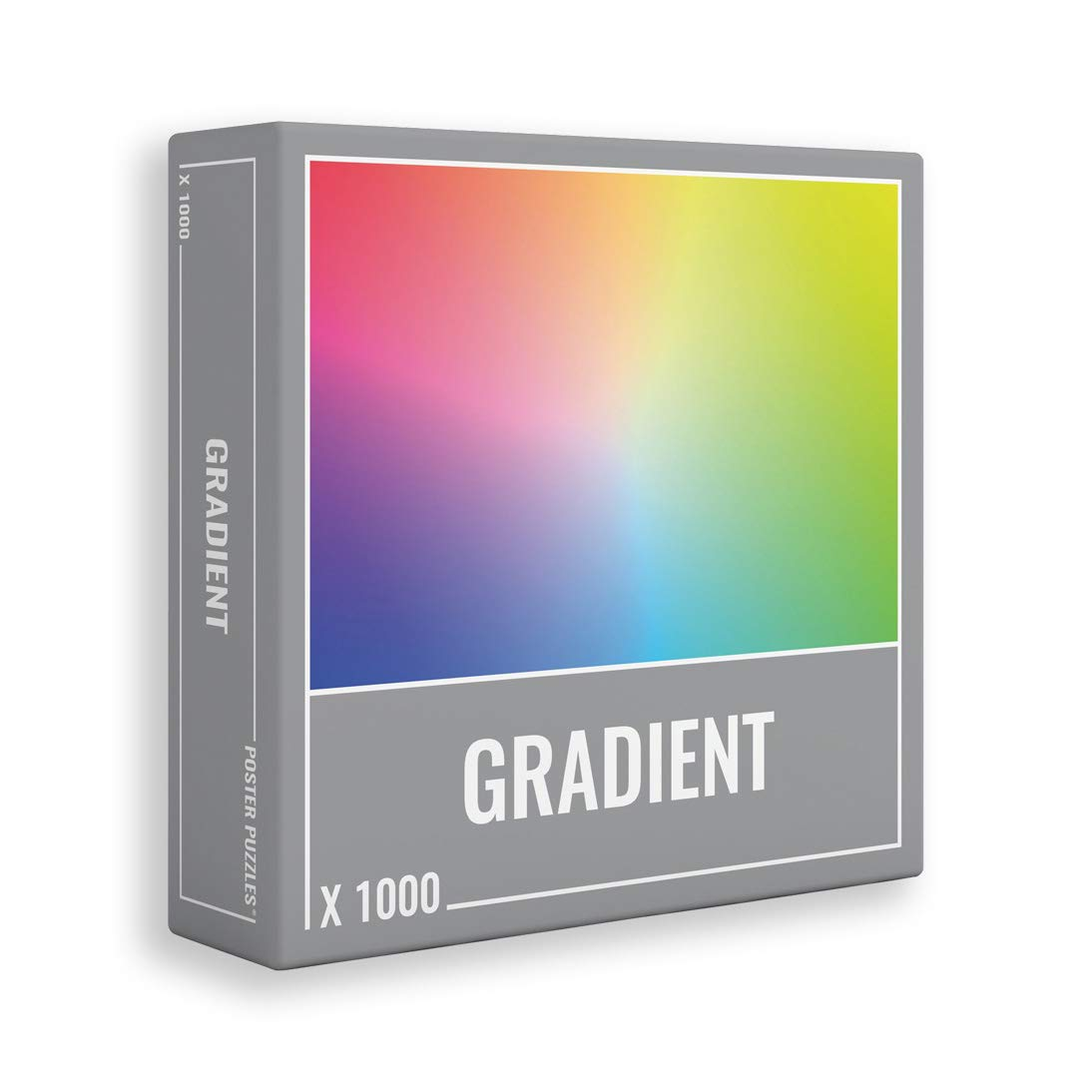 Gradient Puzzle 1000 Pieces: Cool, Premium Jigsaw Puzzle for Grown Ups and Adults!