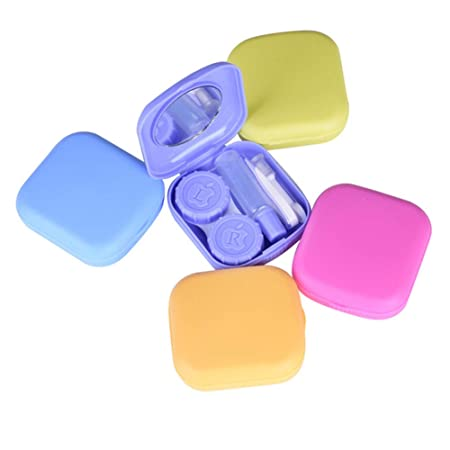 DaoRier Un Conjunto Color Random Delivery Almacenaje Del Recorrido Kit De Soporte Estuche Para Lentes De Contacto Pinzas y Soporte de Bastón Juego ...