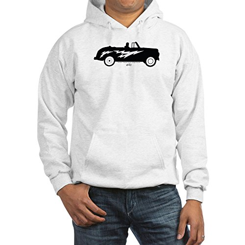 CafePress Grease Lightning Car Pullover Hoodie, Classic & Comfortable Hooded Sweatshirt White