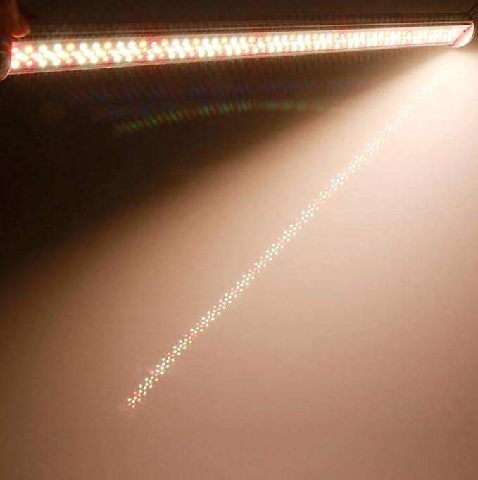 80 100W T8 LED Pflanzenlampe Full Spectrum Grow Light Lampe Wachsen Licht E27 DE