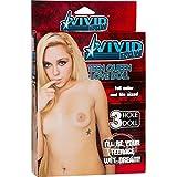 California Exotic Novelties Vivid Raw Teen Queen Zoey Foxx Inflatable Love Doll