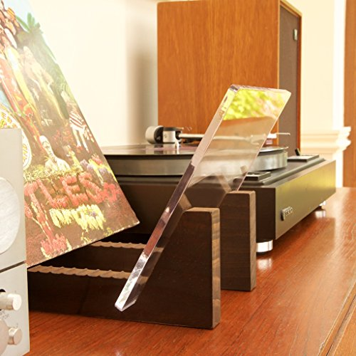 Kaiu Vinyl Record Storage Holder Stacks Up To 50 Albums 7 Or 12