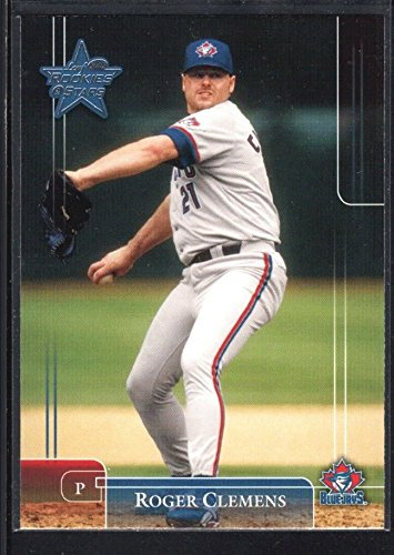 Roger Clemens 2002 Leaf Rookies Stars 60 Blue Jays Sp Rare At