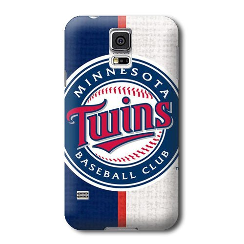 S5 Case, MLB - Minnesota Twins Split - Samsung Galaxy S5 Case - High Quality PC Case