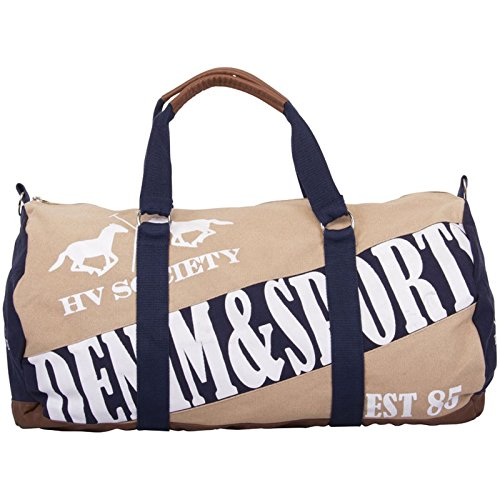 HV Polo Society Canvas Bag Jimmy Tasche Sand