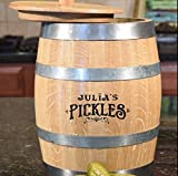 Personalized Old Fashioned Pickle Barrel