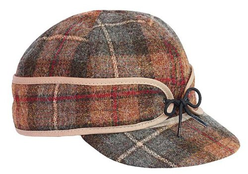 (Stormy Kromer Men's Original Wool Cap,Brown,7.375)