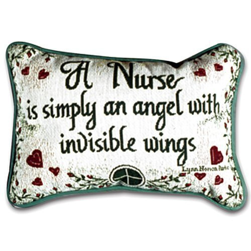 Simply Home Nurse Tapestry Throw Pillow