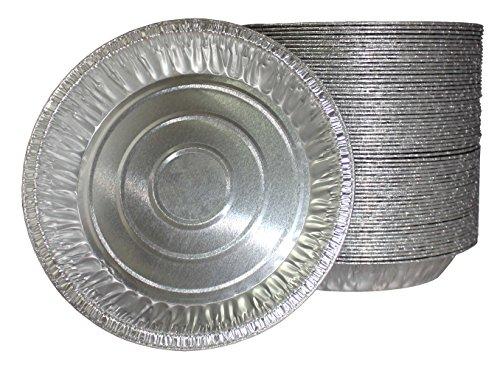 MontoPack Disposable 9-inch Aluminum Foil Tart/Pie Pans (Pack of 20) (Aluminum Pie Pans 9 Inch compare prices)