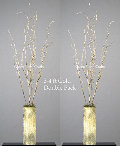Amazon Greenfloralcrafts Curly Willow Branches Pack Of 10