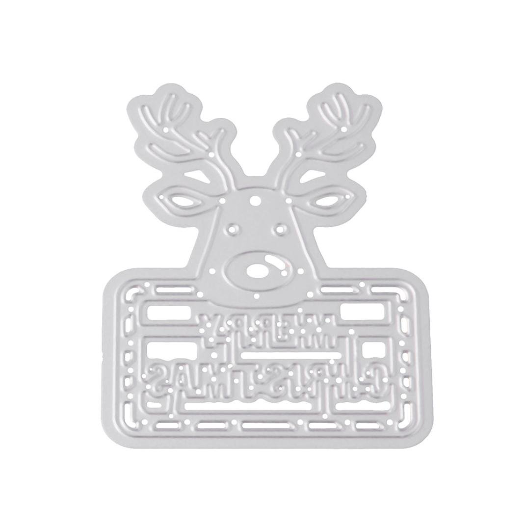 A Accessori per Big Shot e Altre Macchina Fustelle per Scrapbooking FNKDOR DIY Metallo Fustella Cutting Dies Stencil Album Foto