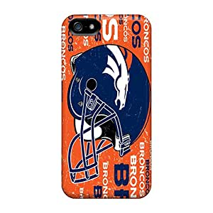 Protector Hard Cell-phone Cases For Iphone 5/5s With Custom Fashion Denver Broncos Series PhilHolmes