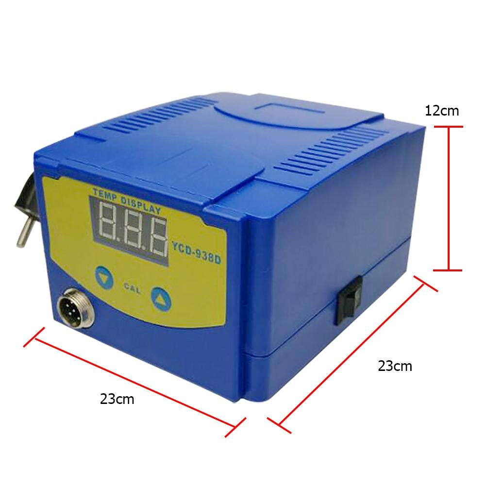 UNIhappy New 938D 75W Digital Display Soldering Iron Station Timer Dormancy Welding Tool by UNIhappy (Image #6)