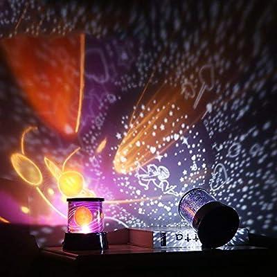 GoodFaith Proyector de luz Nocturna LED con Estrellas de Cielo ...