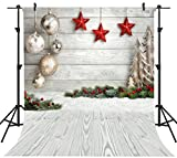 OUYIDA 10X10FT Seamless Christmas theme CP Pictorial Cloth Photography Background Computer-Printed Vinyl Backdrop SD768A