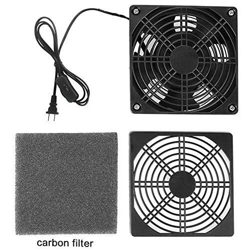 Kulannder Handy Carry Solder Smoker Absorber Remover Fume Extrator Smoke Prevention Absorber DIY Working Fan