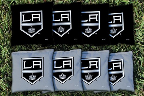 Victory Tailgate 8 Los Angeles Kings NHL Cornhole Game Bag Set (8 Bags Included, Corn-Filled)