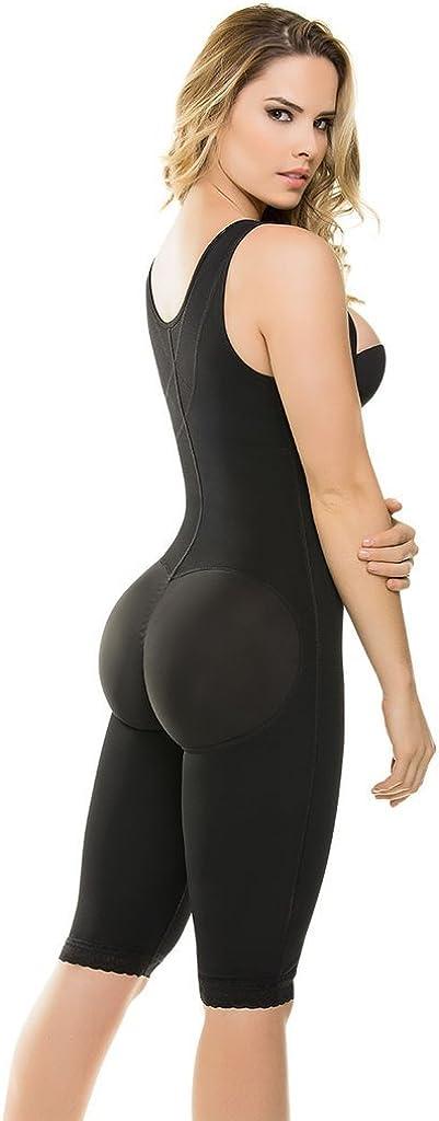 Just Us Store CYSM Ultra Compression Back Support Latex Capri Size Bodyshaper
