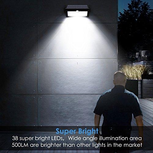 Albrillo Solaire Lampe Led Étanche Ip6538 Leds Lumière TlK1JcuF35