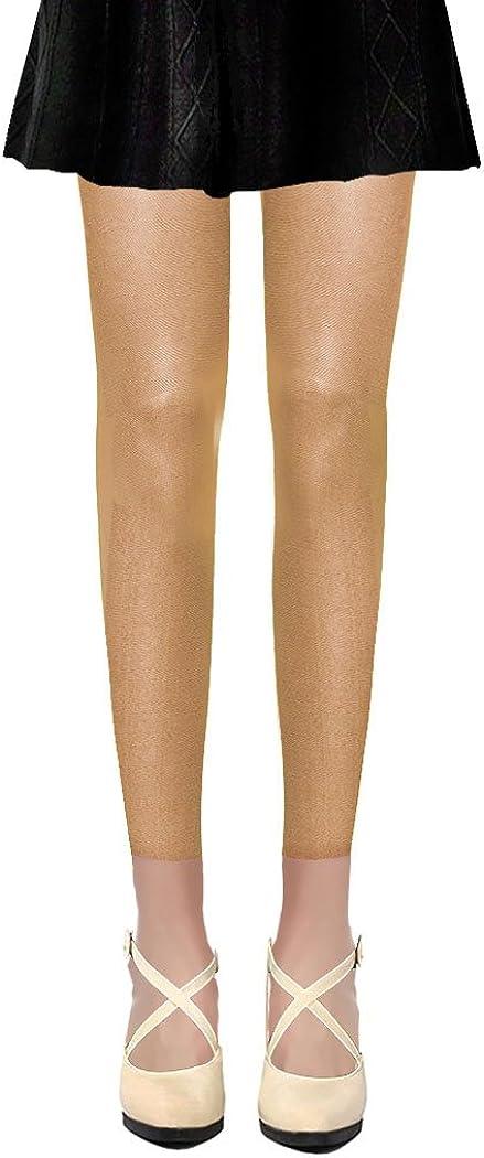 Rouge, Bleu, Rose, Violet, Vert, Beige, Jaune, Gris, Creme, Marron, Noir, Blanc PrettyLoveHose Collants Voile Opaques 50 Deniers Sans Pied Leggings